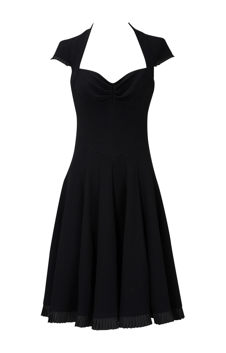 Feminine crepe dress | Luxury Women's sale_all | Karen Millen