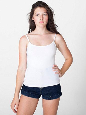 Cotton Spandex Jersey Camisole | American Apparel