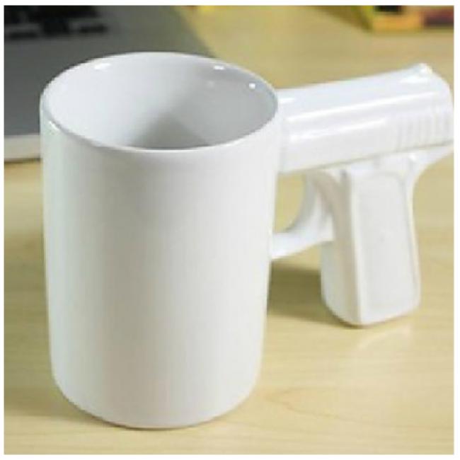 Creative gun mug