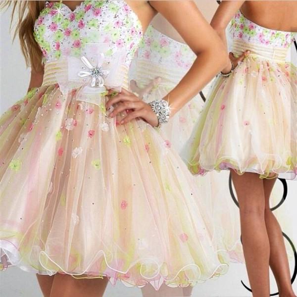 dress prom prom dress short prom dress white cute cute dress