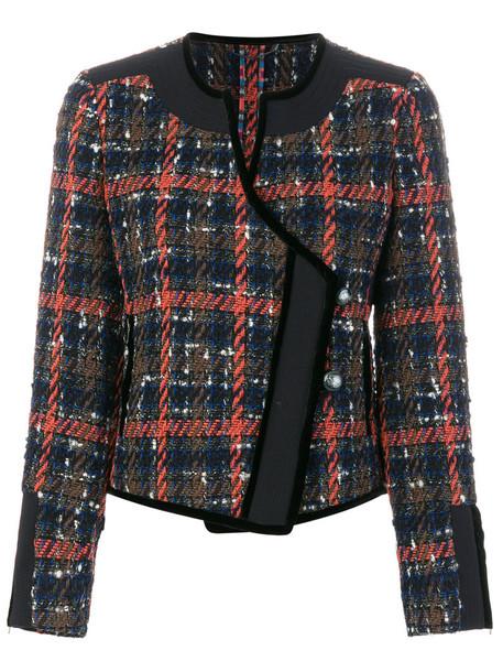 Etro - fitted jacket - women - Silk/Cotton/Acrylic/Alpaca - 44, Silk/Cotton/Acrylic/Alpaca