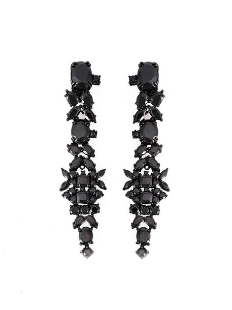 IOSSELLIANI women earrings black jewels