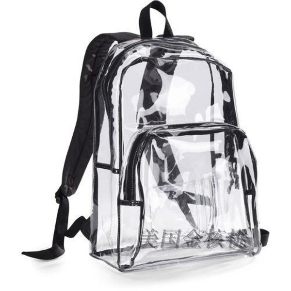 bag backpack transparent  bag black