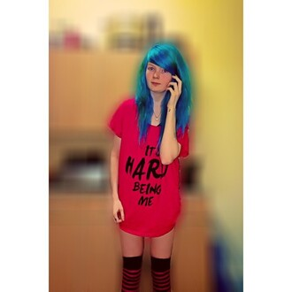 shirt hard me grunge alternative punk rock