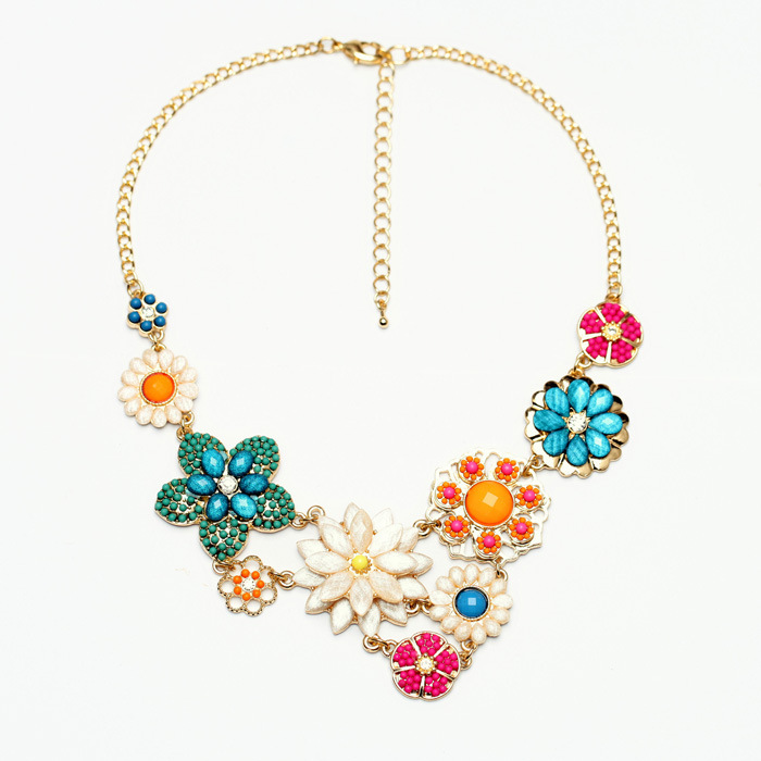 Top Quality Luxury Flower Choker Vintage Pendant Statement Necklace Women Necklaces & Pendants Fashion Necklaces for Women 2014-in Choker Necklaces from Jewelry on Aliexpress.com