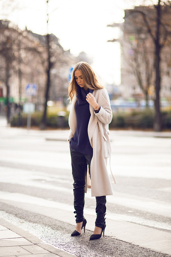 lisa olsson pants shoes sweater coat