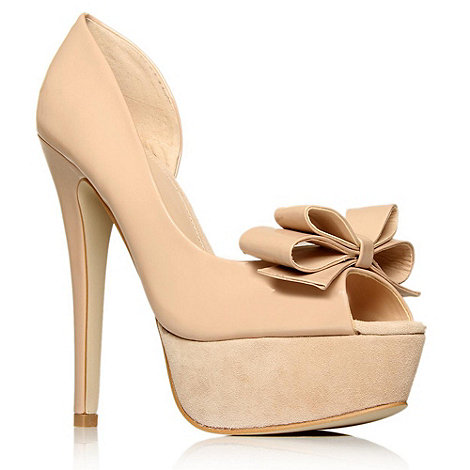 Carvela Nude altitude high heel shoes- at Debenhams.com