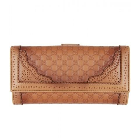 Gucci Light Tan Leather Purse