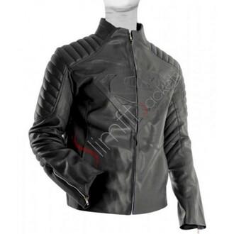 faux leather jacket superman smallville tom welling clark kent henry cavil man of steel fashion designer men's wear