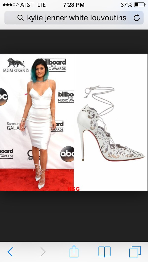 shoes kylie jenner dress