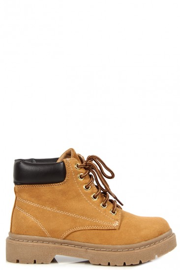 Low Combat Boots - Cr Boot
