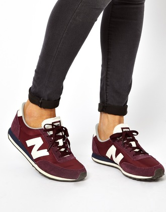 shoes 410 new balance burgundy sneakers newbalance new balance 410 trainers