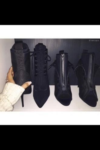 shoes alexander wang black black shoes heels high heels sandals fashion style