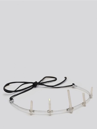 hair accessory crown quartz grunge style fashion vintage accesorie crystal quartz