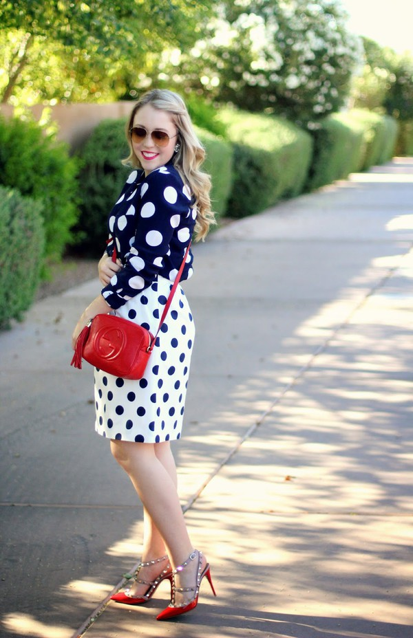 a beautiful heart top skirt shoes make-up bag sunglasses jewels nail polish