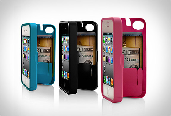 IPHONE CASE WITH HIDDEN STORAGE | BY EYN