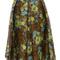 Floral jacquard skirt | luxury women's occasiondressing | karen millen