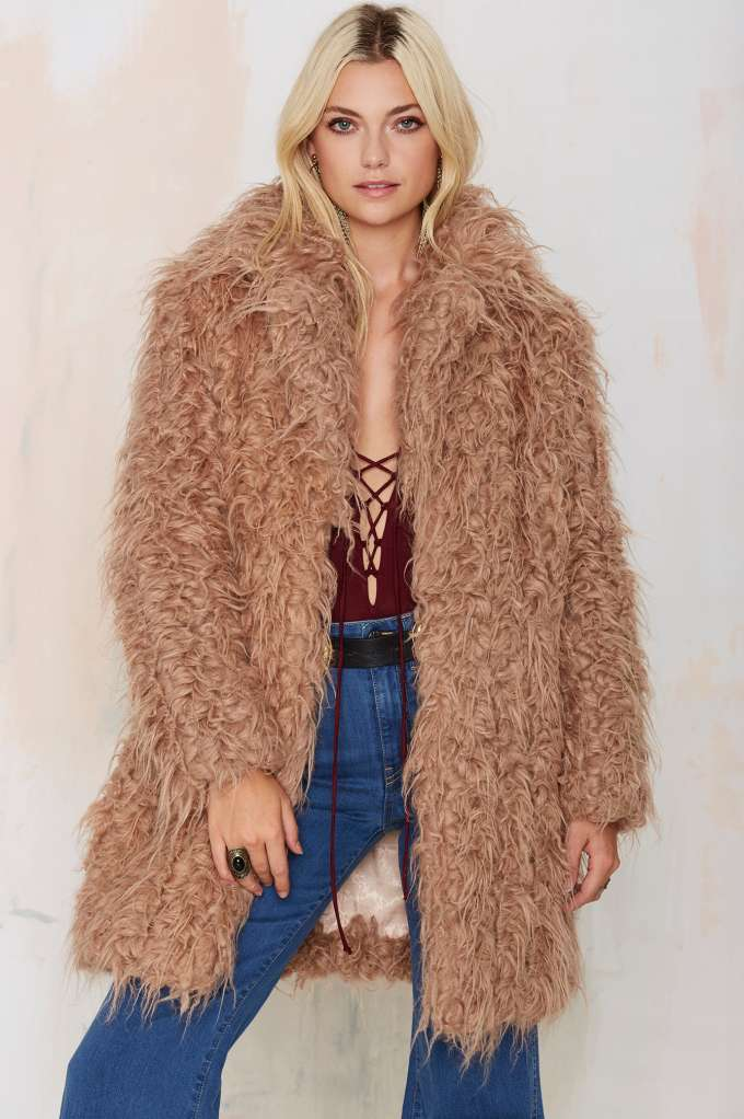 Trash Orson Faux Fur Coat