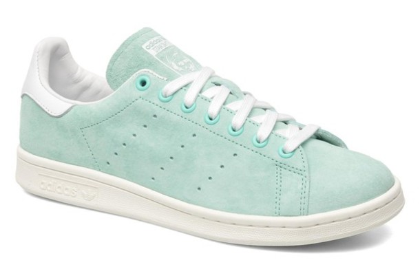 shoes sneakers adidas shoes stan smith mint suede shoes suede sneakers pastel sneakers mint shoes pastel green