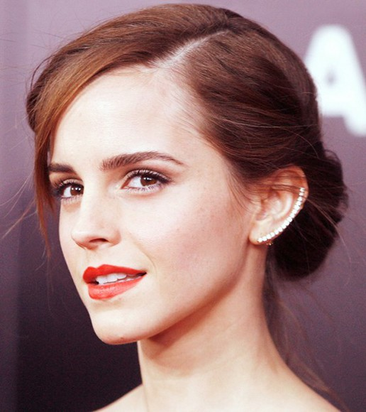 jewels cuff earrings diamonds emma watson