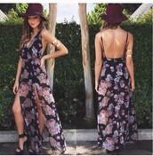 dress,floral dress,maxi dress