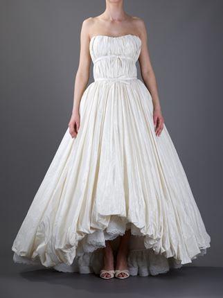 Balenciaga bridal dress