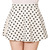 Retro Polka Dot Skater Skirt Dani's Choice