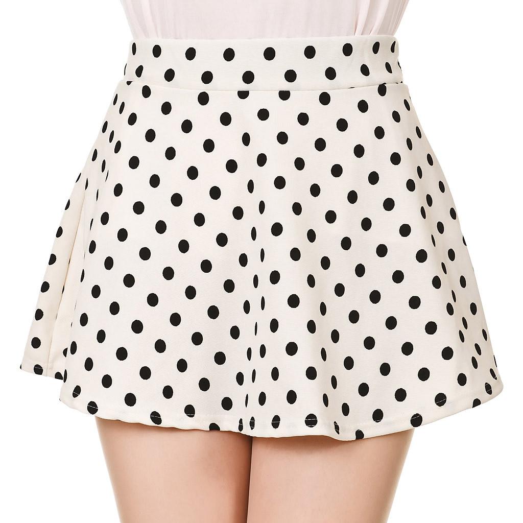 Retro Polka Dot Skater Skirt Dani's Choice