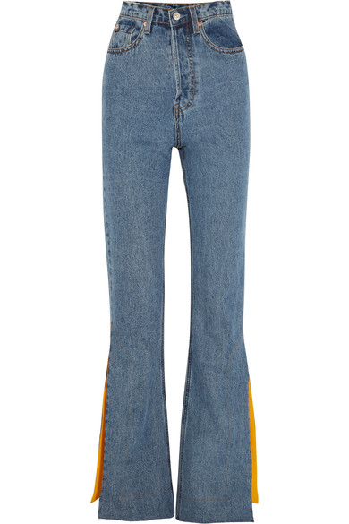 822b968576447f Solace London - Hettie high-rise flared jeans