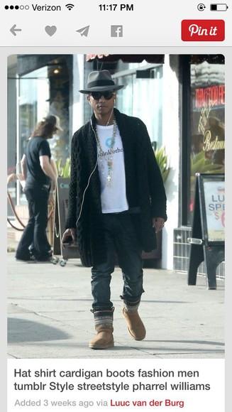 cardigan seen on pharrell