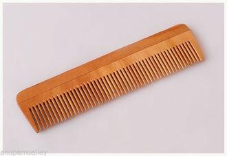 hair accessories comb neem wood hai hairstyles