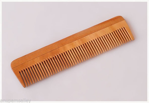 hair accessories comb neem wood hai hairstyles