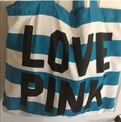 bag,vspink,pink by victorias secret