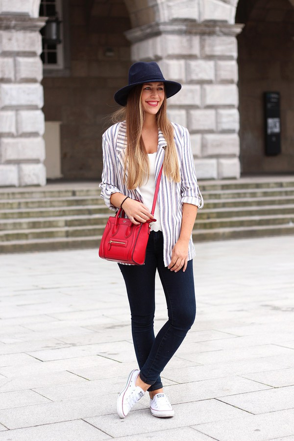 fabesfashion blogger jacket hat shoes top bag