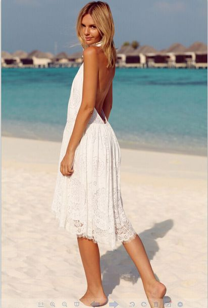 89518bfd39dc dress lace dress lace white lace dress girly women event summer dress  backless white dress sexy