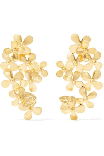 Pippa Small earrings gold earrings gold jewels
