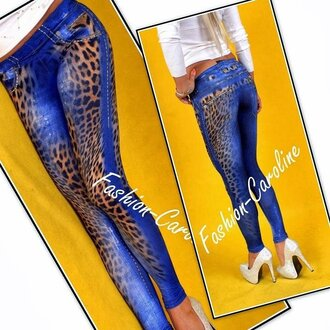 leggings jeans leopard print animal print printed leggings jeggings