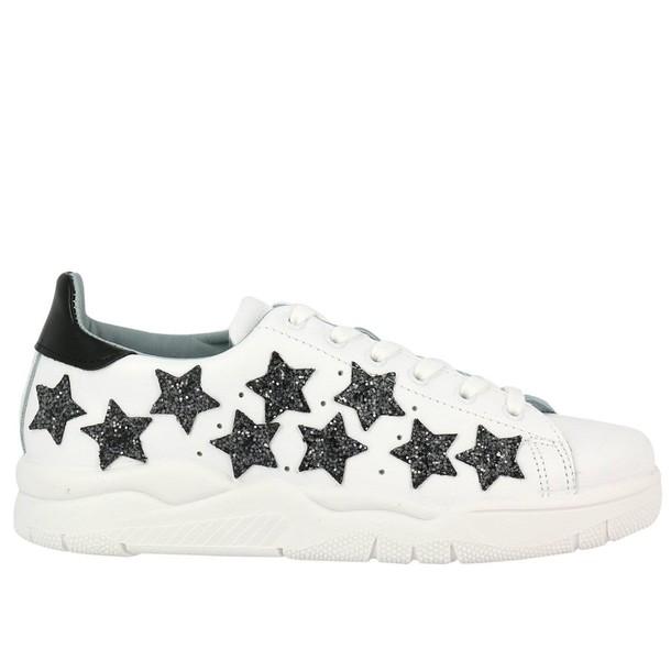 Chiara Ferragni sneakers. women sneakers shoes white