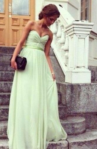 dress mint mint maxi dress maxi dress prom dress prom tumblr dress