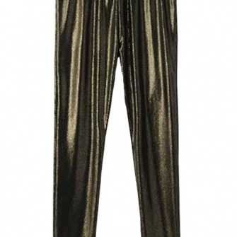 leggings middle-waist chic skinny leggings shiny the middle