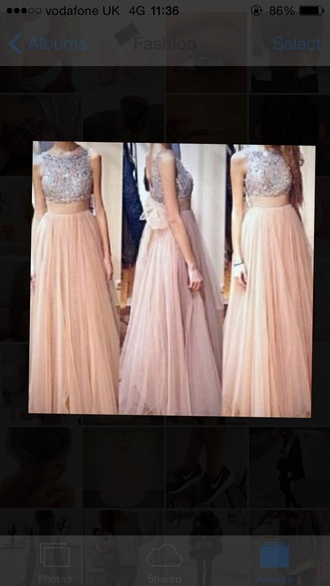 dress prom 2015 prom dress prom dresses 2015 pink dress chiffon dress glitter dress glitter prom dress a line prom gowns a line dress bow dress