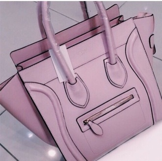 bag pink purse celine pink bag