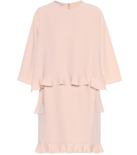 Stella McCartney Crêpe dress in pink