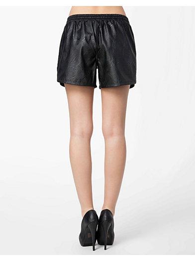 Alik Shorts - Vila - Svart - Byxor & Shorts - Kläder - Kvinna - Nelly.com