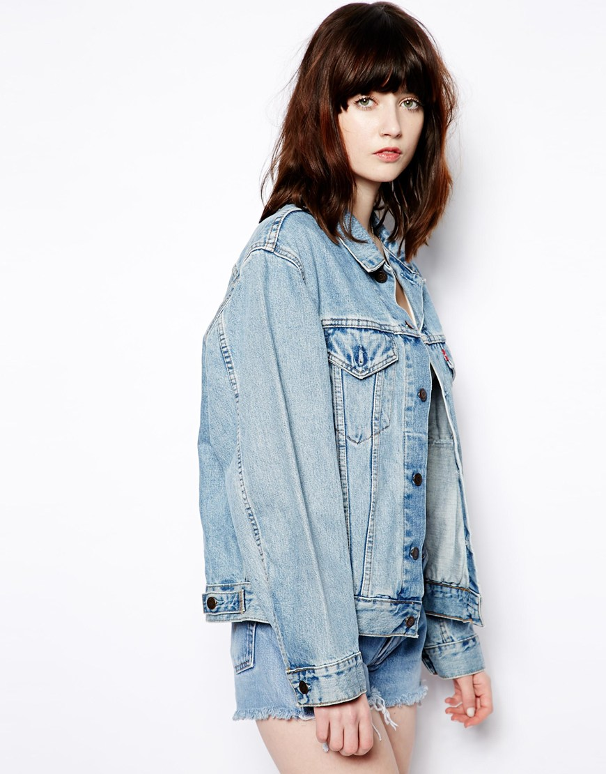Pop Boutique Vintage Denim Jacket at asos.com