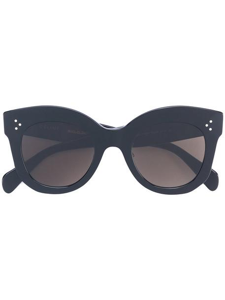 Céline Eyewear women sunglasses round sunglasses black