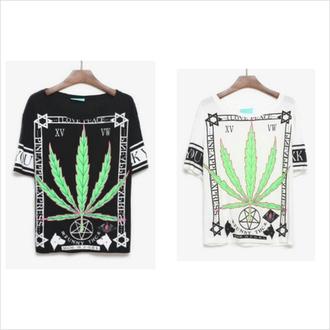 unif shirt androgyne manila weed 420 givenchy pyrexvision pyrex balmain boy london ktz versace kill star clothing stylenanda