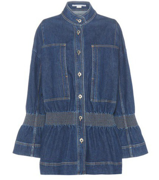 Stella McCartney jacket denim jacket denim blue