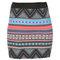 Multi - colored pattern skirt - skirts - trf | zara greece