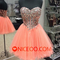 Niceoo dresses | cute a line princess sweetheart short mini tulle evening dresses with beading